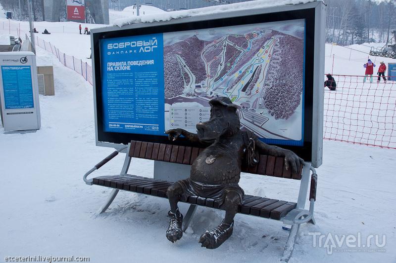 Бобровый Лог и Столбы в новогодние каникулы / Фото из России