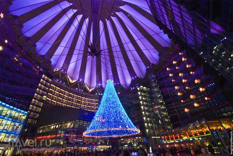 Сони-центр на Потсдамерплац в Берлине / Фото из Германии