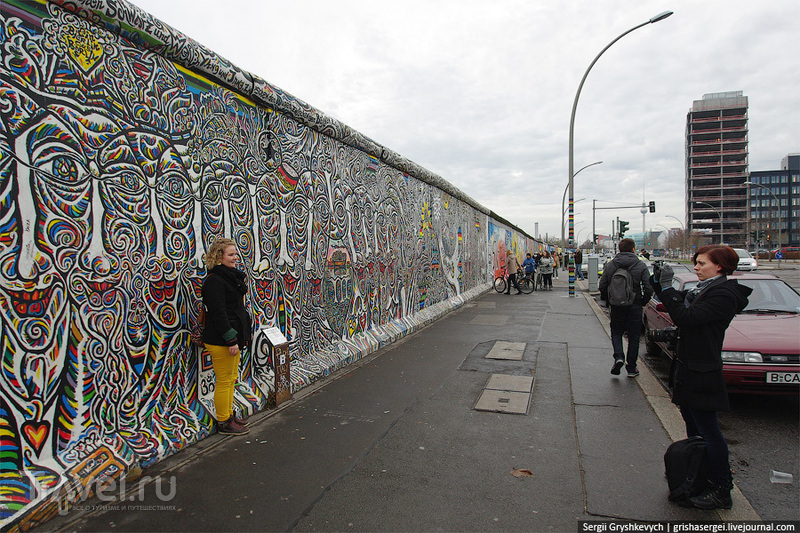 East Side Gallery в Берлине / Фото из Германии