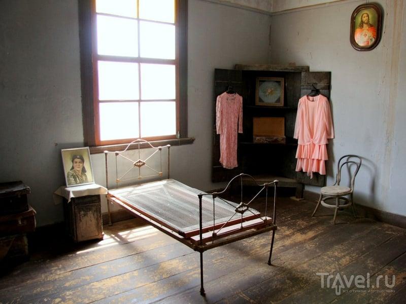Музей на территории шахтерского города Хамберстоун / Чили