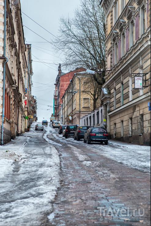 Улица Крепостная в Выборге / Фото из России