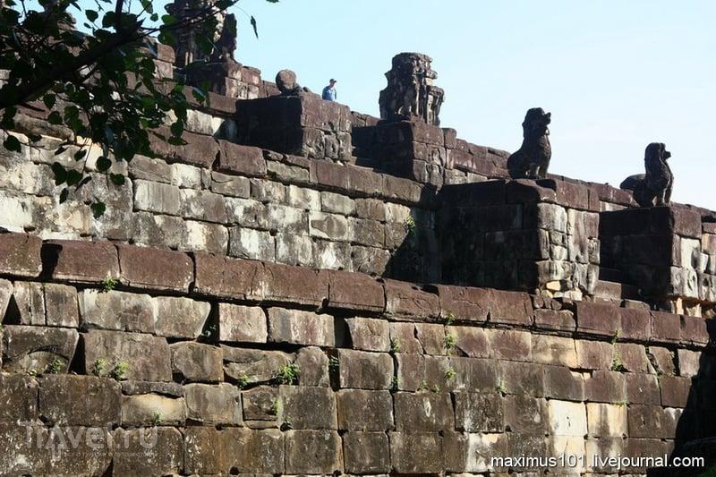 Харихаралайя - первая столица Кхмерской империи / Фото из Камбоджи