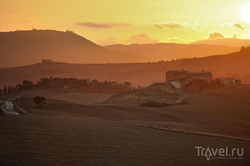 Туманная Тоскана и волшебство Валь-д'Орчии / Фото из Италии