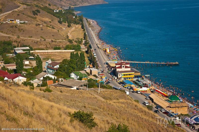 фото поселка морское крым