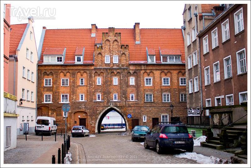 Хлебницкие ворота в Гданьске / Фото из Польши