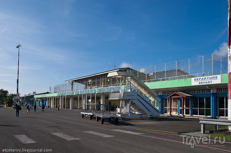 Аэропорт Бауэрфилд в Порт-Вила, Вануату / Фото из Вануату