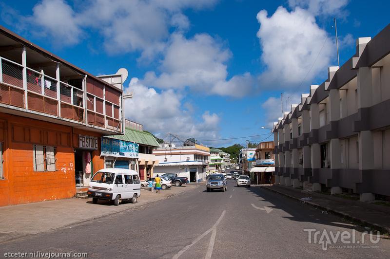 Улица Бугенвиля в Порт-Вила, Вануату / Фото из Вануату