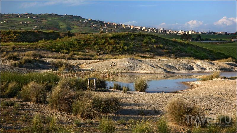 Macalube di Aragona - одно из геологических чудес Сицилии / Фото из Италии