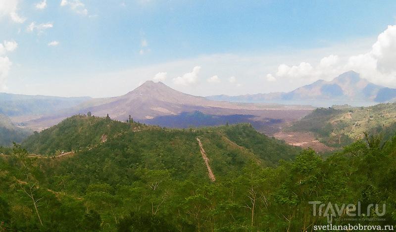Вулкан Гунунг-Батур, Бали / Фото из Индонезии