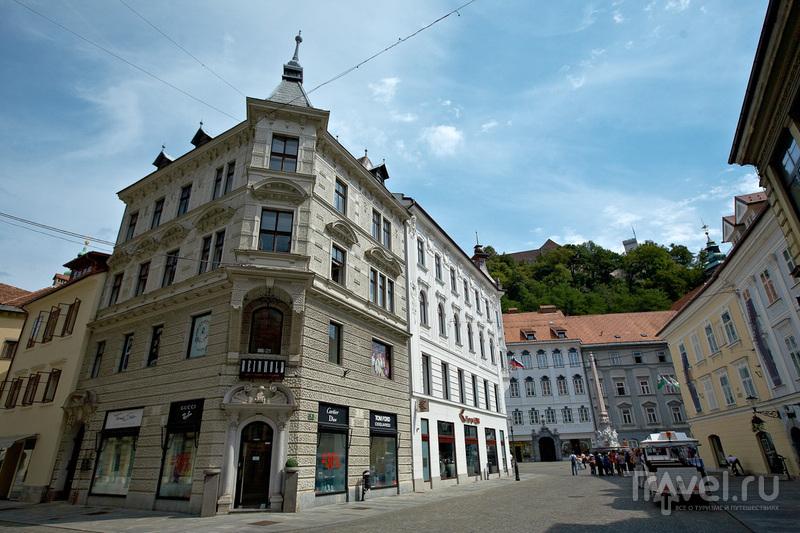 Цветная Любляна / Фото из Словении