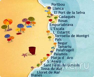 Коста-Брава: прогулка вдоль моря / Фото из Испании