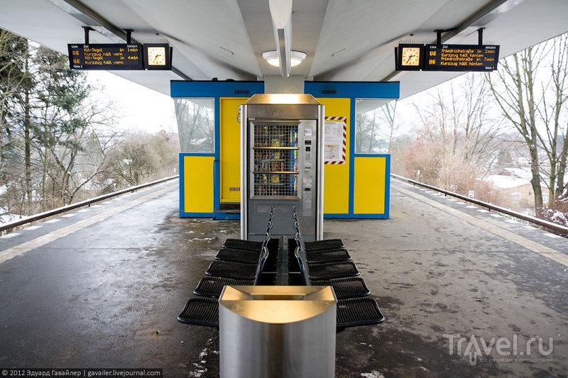 Станция метро Otisstraße (Отисштрассе), Берлин / Фото из Германии