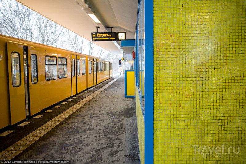 По Берлину на метро: линия U6 / Фото из Германии