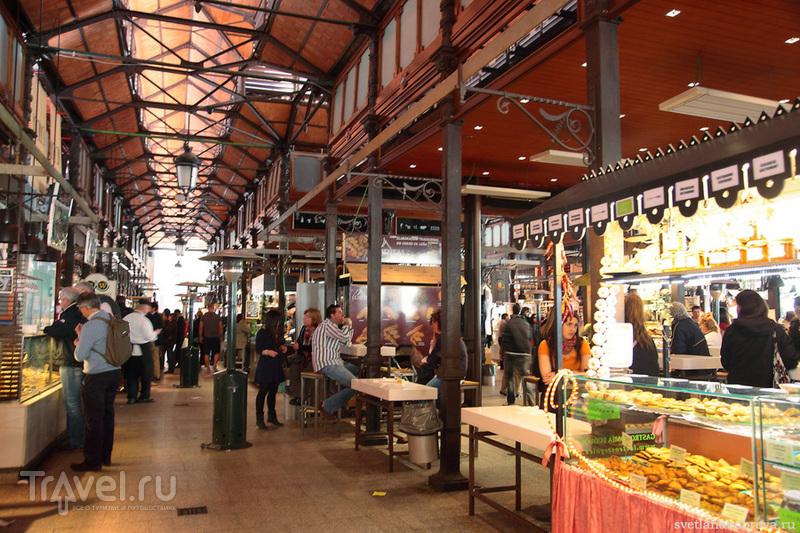 Рынок Сан-Мигель в Мадриде / Фото из Испании