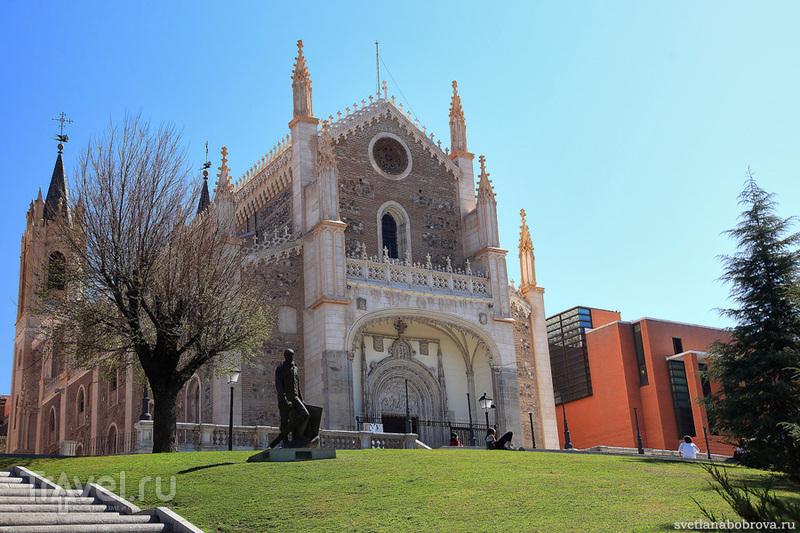 Церковь Сан-Херонимо-эль-Реаль в Мадриде / Фото из Испании