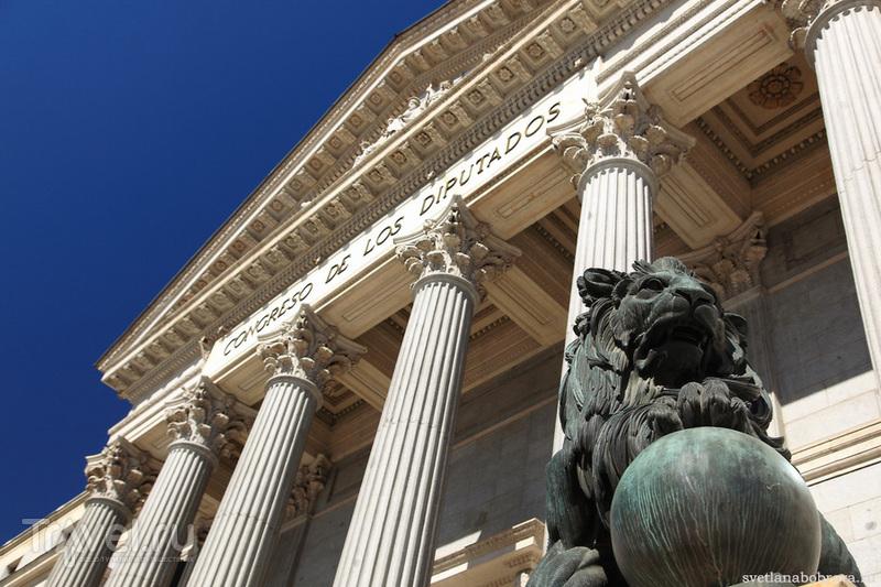 Здание Конгресса депутатов  в Мадриде / Фото из Испании