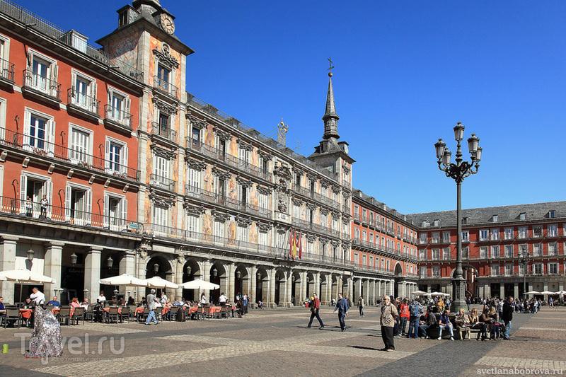 Площадь Майор (Plaza Mayor) в Мадриде / Фото из Испании