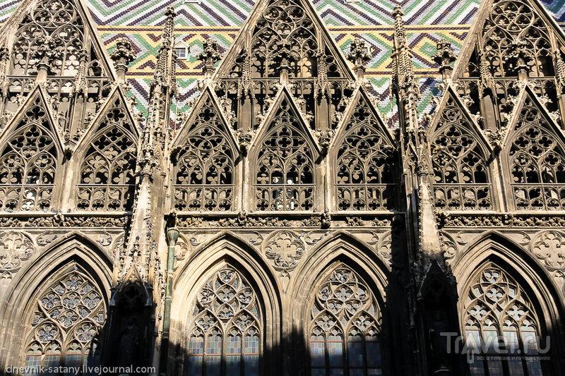 Фасад собора Святого Стефана, Вена / Фото из Австрии
