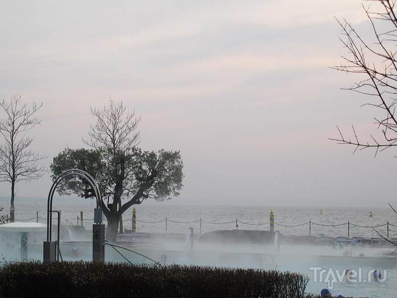 Горячие источники в термах Aquaria Termal  / Фото из Италии