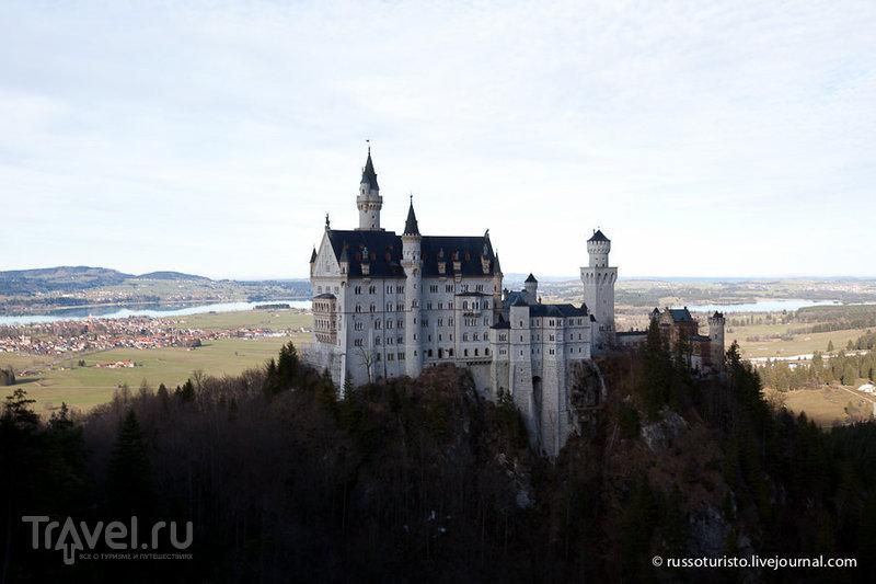 Нойшванштайн - туристический аттракцион / Фото из Германии