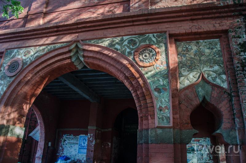 Декор здания / Фото из Индии