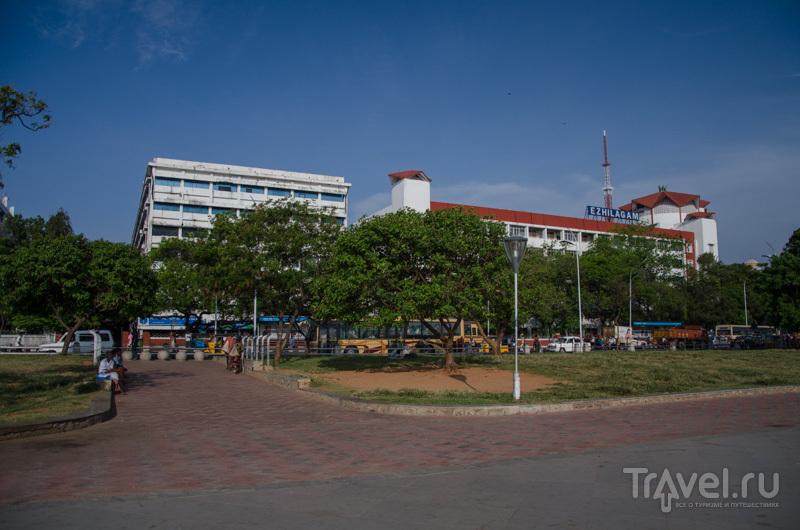 Набережная Ченнаи / Фото из Индии