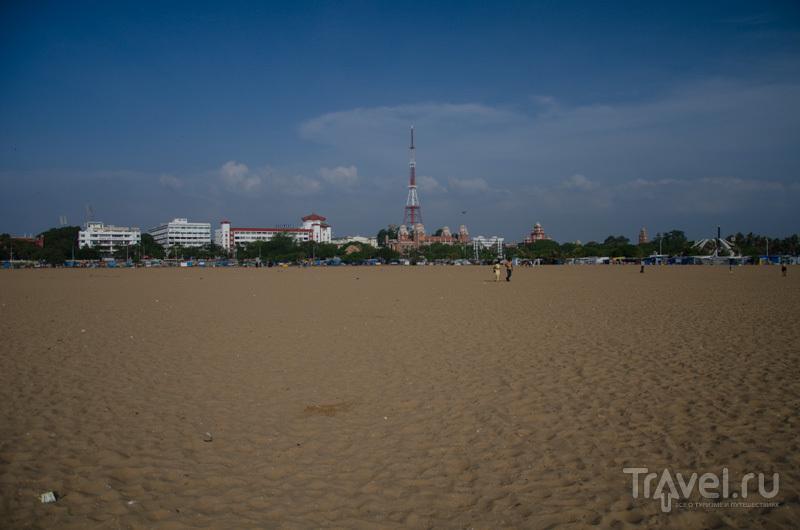 Широкий пляж / Фото из Индии