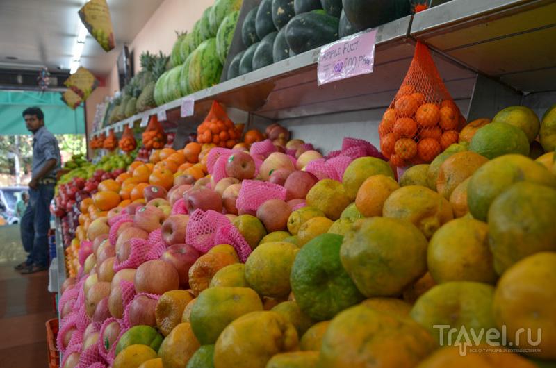 Фруктовый магазин / Фото из Индии