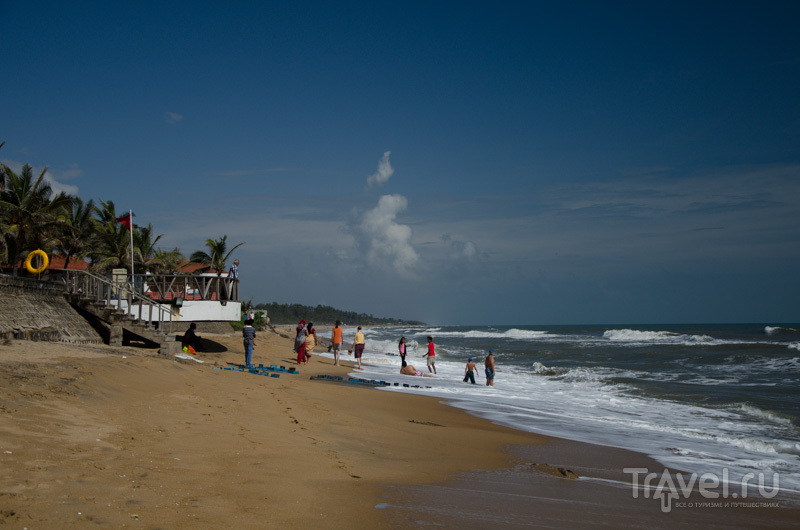 Пляж в Махабалипураме / Фото из Индии