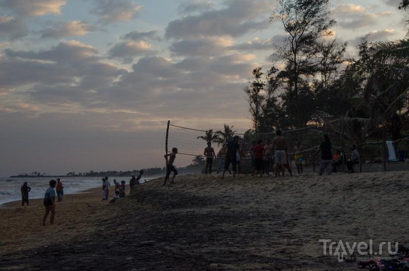 На берегу / Фото из Индии