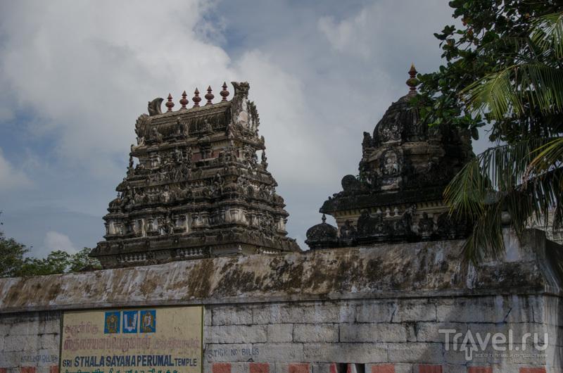 Индуистский храм в Махабалипураме / Фото из Индии