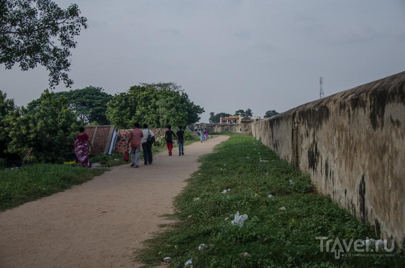 Форт в Веллуру / Фото из Индии
