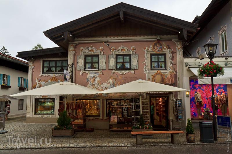 Фрески деревушки Обераммергау / Фото из Германии