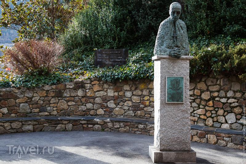 Памятник Епископу князю-соправителю Жусти Гвитарт и Вилардево в Андорра-да-Велья / Фото из Андорры