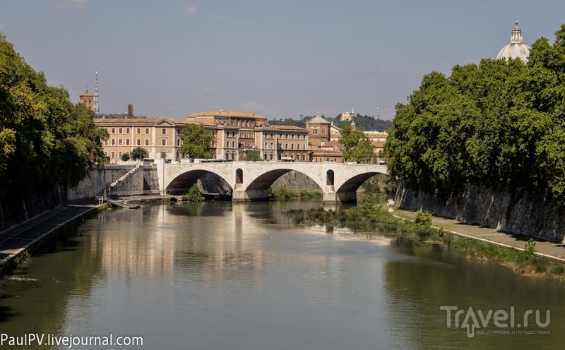 Мост Amedeo di Savoia в Риме, Италия / Фото из Италии