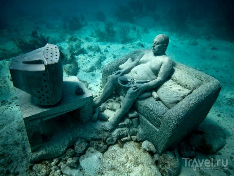 Необычная коллекция подводных памятников ежегодно пополняется, Гренада / Гренада