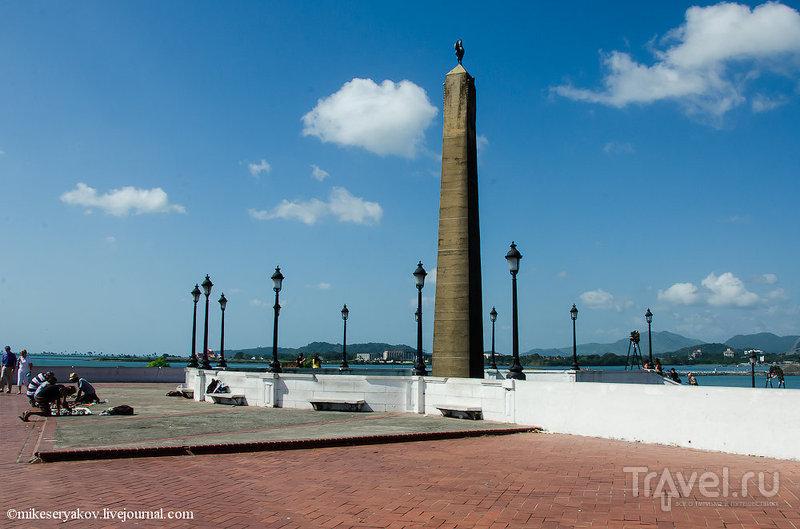 Площадь Франции в Каско-Вьехо / Фото из Панамы