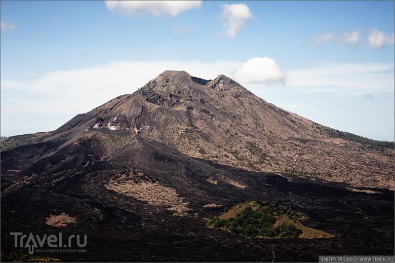 Вулкан Батур на Бали, Индонезия / Фото из Индонезии