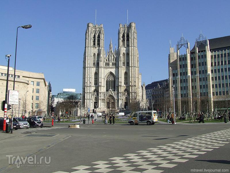 Собор Святых Михаила и Гудулы в Брюсселе / Фото из Бельгии
