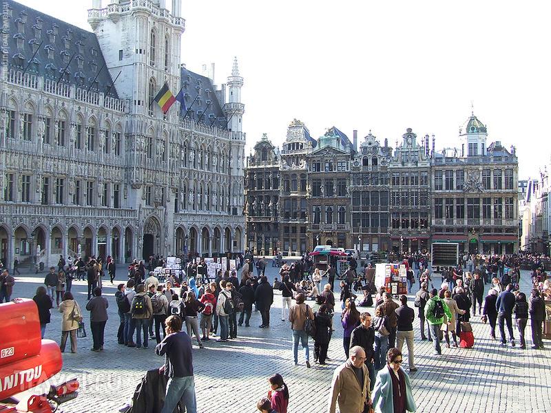 Гранд-плас в Брюсселе / Фото из Бельгии