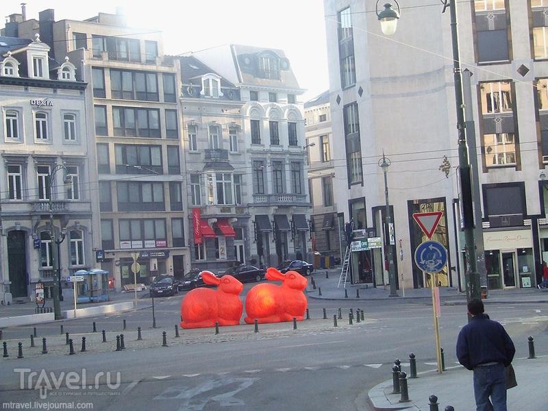 Брюссель - город на стыке двух культур / Фото из Бельгии