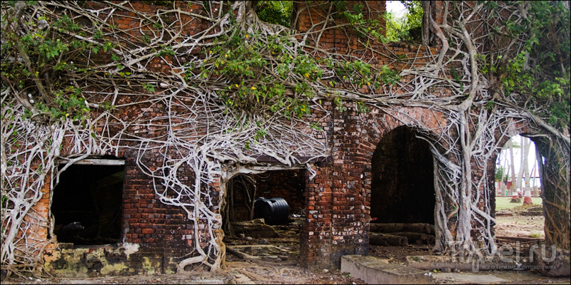 Форт Росс, Андаманские острова / Индия