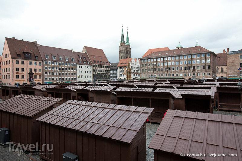 Рыночная площадь в Нюрнберге / Фото из Германии