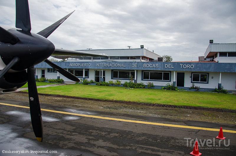 Аэропорт в Бокас-дель-Торо, Панама / Фото из Панамы