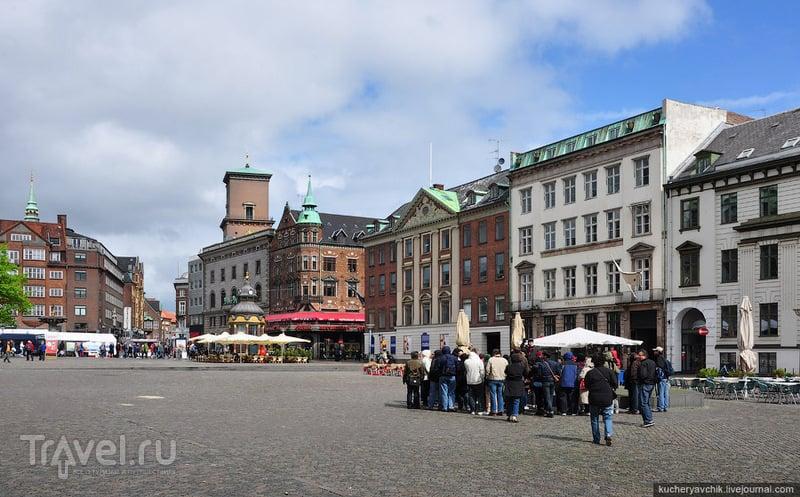 Рыночная площадь непривычно пустая / Фото из Дании