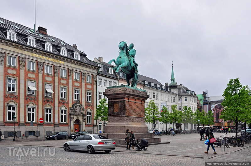 Епископ Абсалон, основатель Копенгагена. Ряса не помешала ему взять в руку меч и развязать войну / Фото из Дании