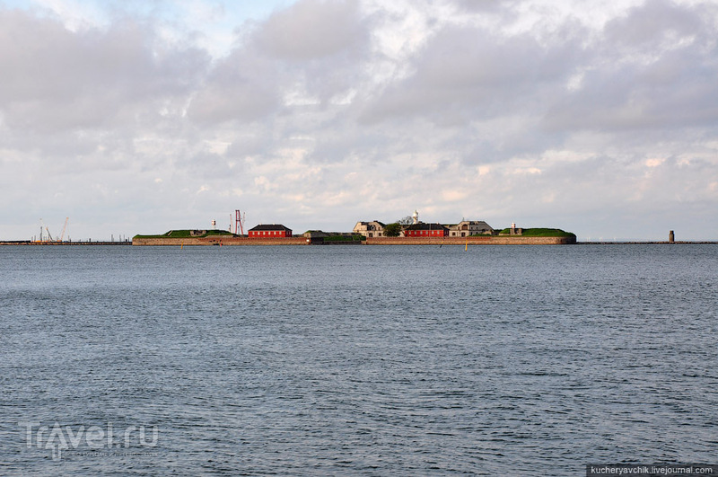 Форт Трекронер (1714 г.) защищает вход в копенгагенскую гавань со стороны Северного моря / Фото из Дании