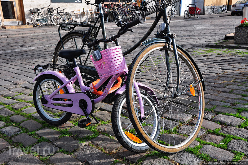 Треть жителей Копенгагена добираются на работу на велосипеде / Фото из Дании
