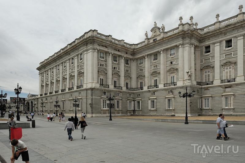 Королевский дворец в Мадриде / Фото из Испании