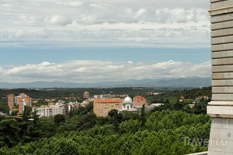 Горы Сьерра-де-Гвадаррама в Мадриде / Фото из Испании